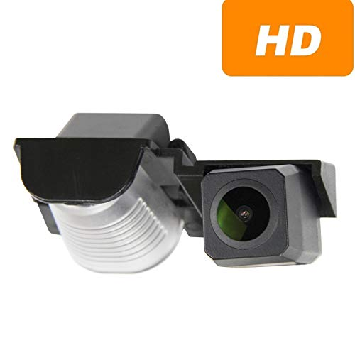 Verbesserte Rückfahrkamera (1280 x 720p) Kamera integriert in Nummernschildbeleuchtung Nummernschildbeleuchtung Rückfahrkamera für Jeep Wrangler JKU Jeep JK YJ TJ JK J8 Rubicon Sahara Unlimited Sahara