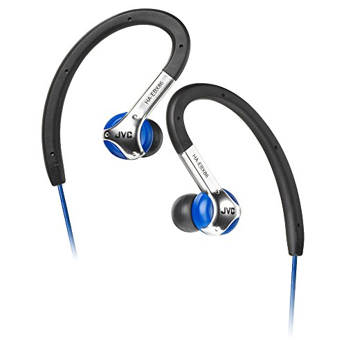 headphones ses JVC Victor In-ear Stereo Headphones for Sports | HA-EBX86-A Blue (Japanese Import)