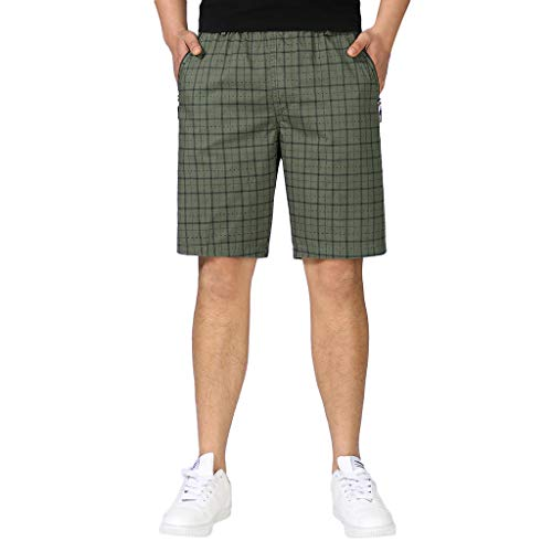 TEBAISE Herren Chino Shorts Capri Hose Freizeithose 2019 Sommer Kurze Bermuda Shorts Cargo Short Feldhose Arbeitshose Trekkinghose Outdoorhose Herren Kurze Wander Shorts für Männer in Mehreren Farben