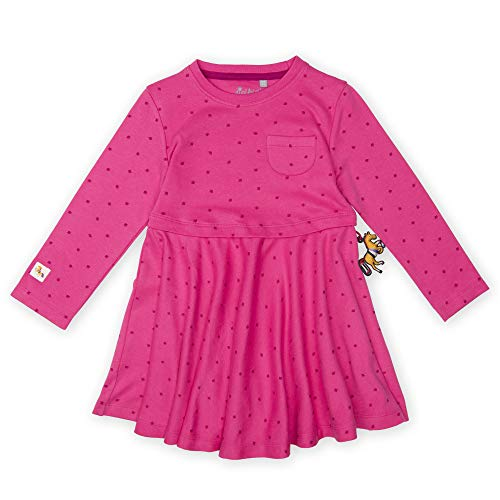 Sigikid Mädchen Langarm Kleid, Rosa (Pink 682), (Herstellergröße: 98)