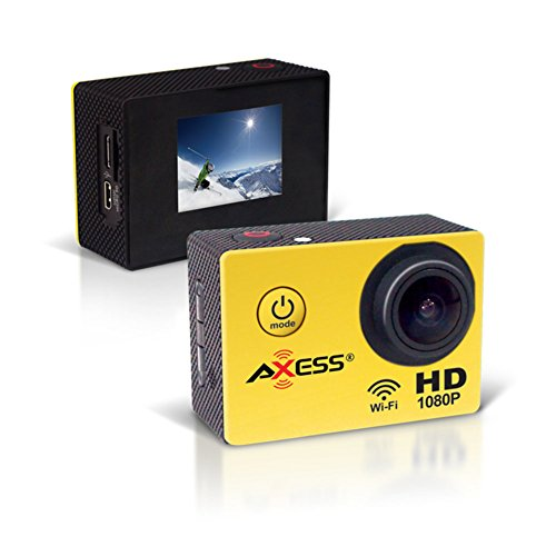 Axess Full HD 1080P Action Camera Electronic Computer Accessories