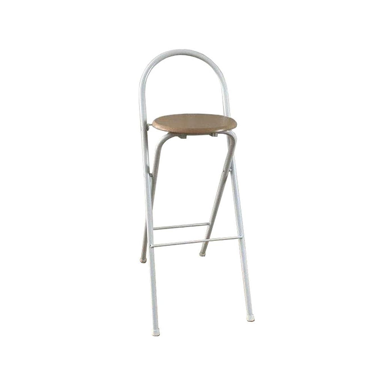 同盟勇敢なスイッチ折りたたみ背の高い椅子バーカウンタースツールホームダイニングチェアキャンプポータブル