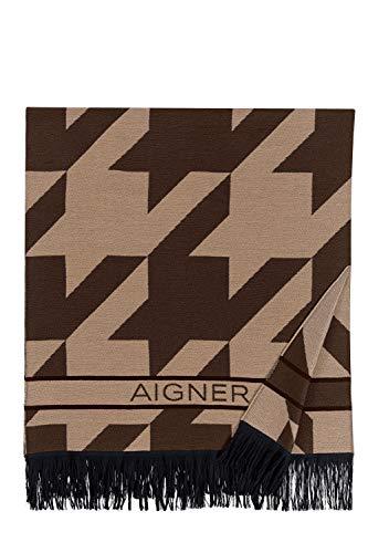 Aigner Schal Braun/Schwarz