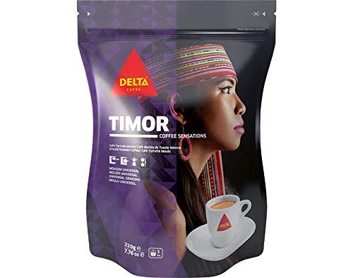 Delta Café Molido de Tueste Natural Timor - 220 gr