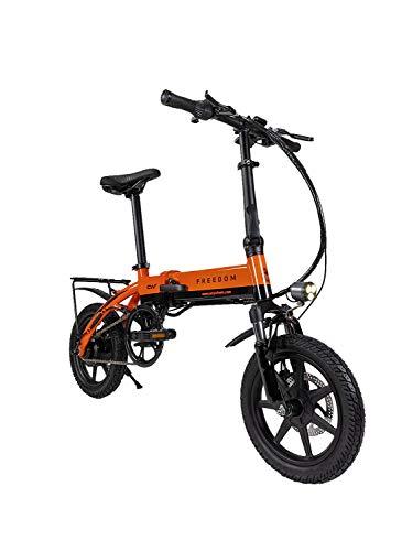 Carrywheels ® The Carrywheels Freedom Electric Bicycle (Ornge)