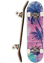 Color : A DUWEN 31 x 8 Skateboard komplette 7-Schicht Ahorn-Holz-Deck Jungen und M/ädchen Vier-Rad-Skateboard Profi Roller Adult Tricks Skateboard for Extreme Sport und Outdoor