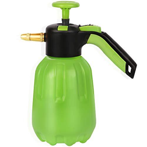 Worth Garden Pulverizador a Presión con Boquilla de Latón Ajustable de 1,5 litros Capacidad para Ser Utilizado como Flores de Riego, Desinfección Sanitaria, Manchas de Limpieza, Limpieza del Hogar