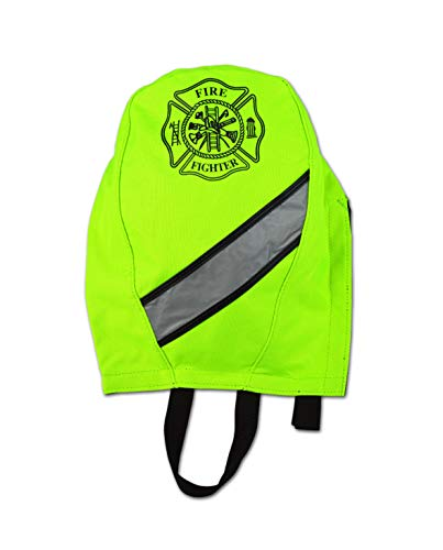 Lightning X Fireman's SCBA Air Pak Respirator Firefighter Mask Face Piece Bag for First Responder (Fluorescent Yellow)
