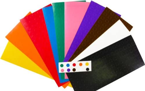 1 4 Dealing full Super special price price reduction .25 Inch Color Coding Labels Pack 960 S Assortment on Sheets