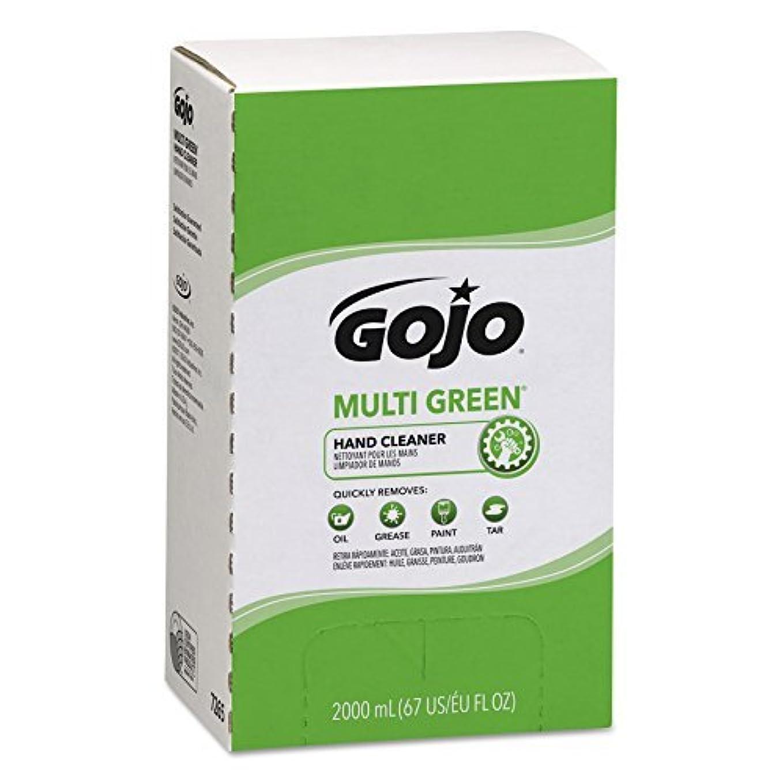 一般的に言えば素子薄汚いGOJO MULTI GREEN Hand Cleaner Gel,Natural Citrus Solvent,2000 mL BioPreferred Certified Hand Cleaner Refill for PRO TDX Dispenser (Case of 4) - 7265-04 [並行輸入品]
