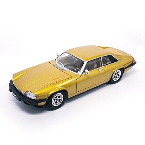 Lucky Druckguss 92658vergoldet '1: 181975Jaguar XJS Modell Fahrzeug, Gold