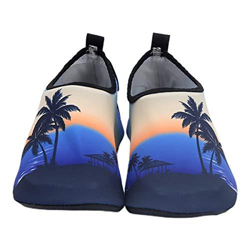 Generic Hombres Y Mujeres Zapatos Acuáticos Zapatos de Playa Verano Al Aire Libre Natación Fitness Buceo Zapatos para Surf Verano Ejercicio Al Aire Libre