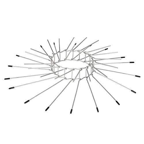 Gardigo Katzenabwehrgürtel I Baumschutz gegen Katzen I Kletterschutz für Bäume zur Katzenabwehr I Fallrohrschutz für Fallrohre I Deutscher Hersteller