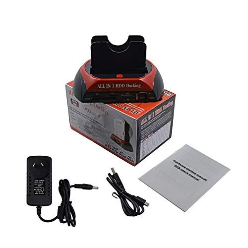 CMDZSW Estación de Acoplamiento ESATA al Adaptador USB 2.0/3.0 para 2.5/3.5 Drive Drive Drive Drining Station Hard Cartelstre (Color : USB2.0 AU)