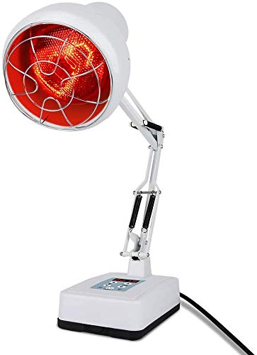 Infrared Lamp with Timing Function,Serfory 150W Near Infrared Light Red Light Heat Lamp Set, Home Use 110V