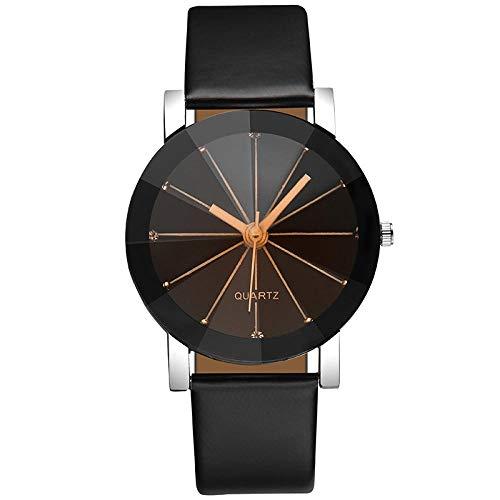 Reloj de moda con superficie de espejo angular de varios lados reloj...
