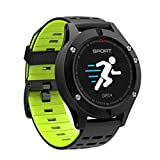 Lightleopard Reloj Inteligente F5 IP67 Monitor de Ritmo cardíaco GPS Modo multideportivo Altímetro OLED