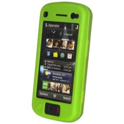 Amzer Silikonhülle (für Nokia N97) Grün