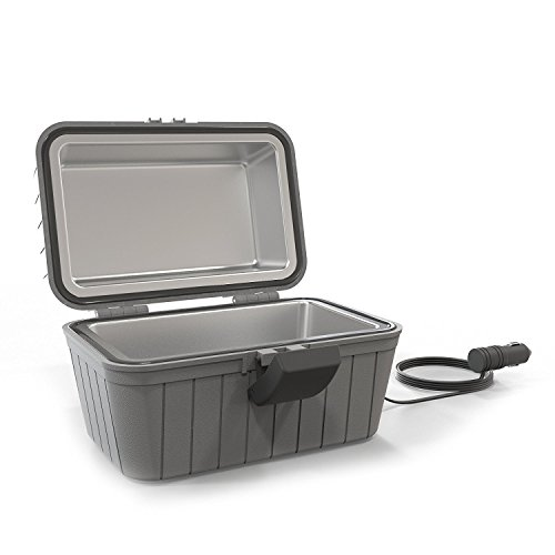 Gideon Heated Electric Lunch Box 12-Volt Portable Stove for Car, Truck, Camping, Etc. - Enjoy Hot...