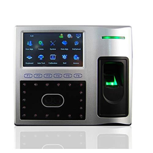 HEQIE-YONGP Timeuhren für Mitarbeiter Kleinunternehmen Multi-Funktion Gesichtsfingerabdruckerkennungssystem mit Anwesenheitsfunktion
