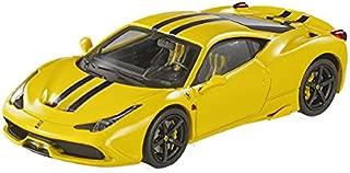 Hot wheels BLY46 Ferrari 458 Italia Speciale Yellow Elite Edition 1/43 Diecast Car Model by Hotwheels