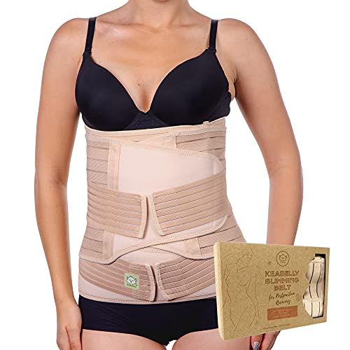 3 in 1 Postpartum Belly Support Recovery Wrap - Belly Band...