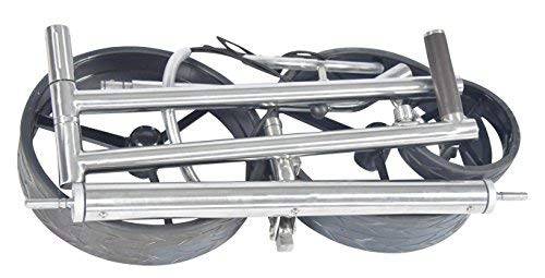 Tour Made RT-610LI V2 Quickfold Lithium Elektro Golftrolley Golfcaddy – mit elektronischer Bergabfahrbremse – Differenzialgetriebe – leichter Aluminium Rahmen silber - 6