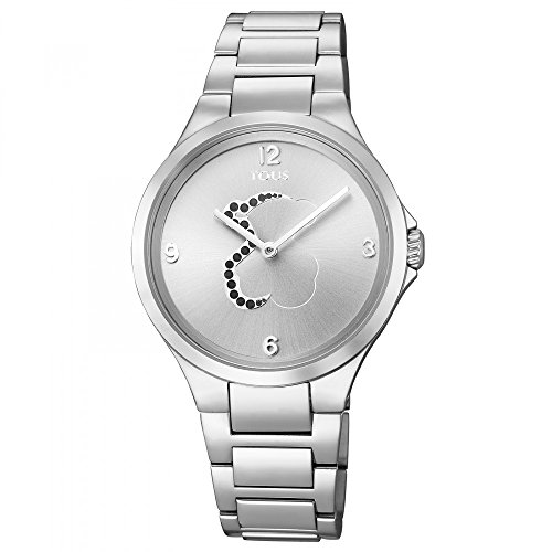 Reloj Tous Motion de acero con espinelas, Ref:700350205, Diámetro de la caja: 36 mm