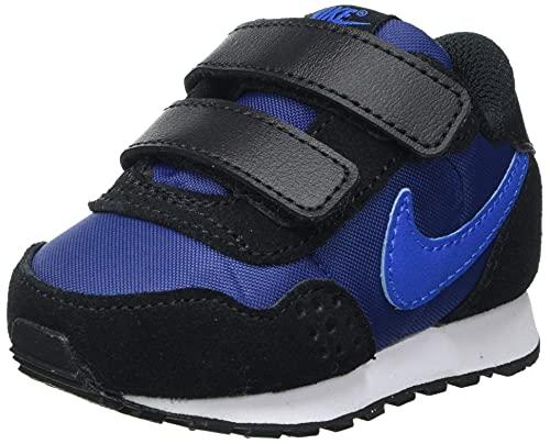 Nike MD Valiant (TDV), Scarpe da Ginnastica Unisex-Bambini, Blue Void Signal Blue Black White, 23.5 EU