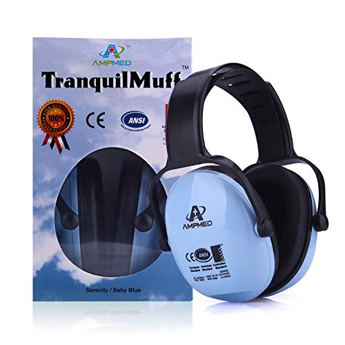 Amplim Hearing Protection Earmuff for Toddlers Kids Teens Adults...