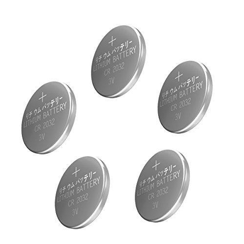 Esonstyle CR2032 Lithium Battery 3V CR 2032 Coin Cell 210mAh (10pcs)