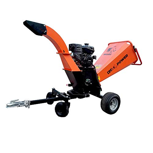 Detail K2 OPC566E 6 in. - 14HP Kinetic Chipper with ELECTRIC Start and AUTO Blade Feed KOHLER CH440 Command PRO Commercial Gas Engine