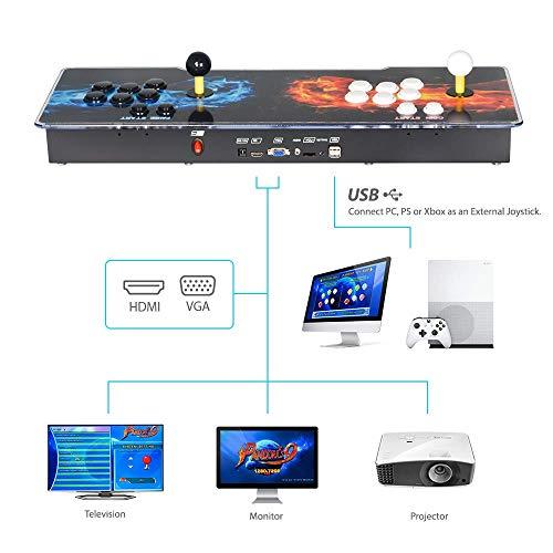 TAPDRA Consola de Juegos Retro Arcade 3D Pandora Key 7 2670 Retro HD Games...