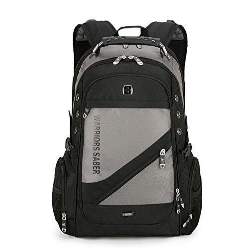 beibao shop Backpack Sacs à Dos pour Ordinateur Portable Casual Épaules Imperméable Nylon Extérieur Voyager Multi-Fonctionnel Sac à Dos d'ordinateur, 005