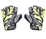IRIS Half Finger Antiskid Cycling Gym Fitness Riding Climbing and Tracking Cross fit