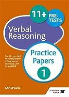 11+ Verbal Reasoning Practice Papers 1