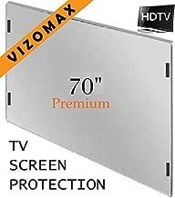 70 inch Vizomax TV Screen Protector for LCD, LED, OLED & QLED 4K HDTV