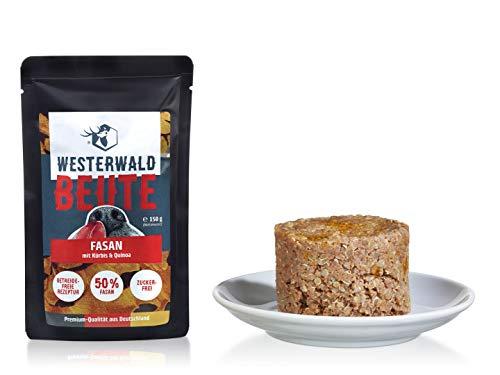 Westerwald-Beute Fasan mit Kürbis & Quinoa – 12x150g Beutel im Sparpack