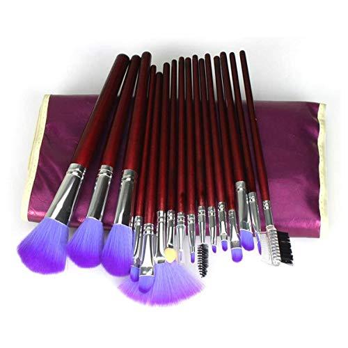 Make-up borstel sets16 PCS zachte synthetische poeder blozen vloeibare oogschaduw poeder blozen oogschaduw borstel kit geschikt voor alle huidtypen