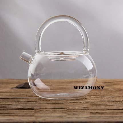 Teapot, 1Pcs 780Ml High Borosilicate Glass Teapots Heat Resistance Suitable For Tea Brewing Tea Set