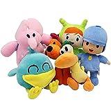 RKJOO Pocoyo Plush Toy Cartoon Plush Toy Plush Toy Kids Gift Plush Toy Cute Doll Plush Toy