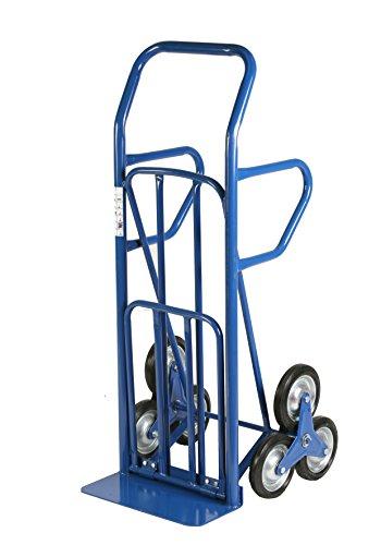 Archimede HT, Carrello Trasformabile per Scale, Blu, 55 x 80 x 140 cm