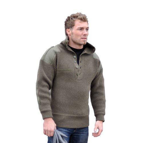 Mil-Tec OESTERR Alpine Sweater Wool Olive
