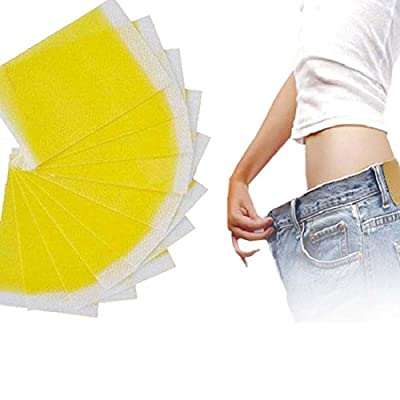 100pcs Slimming Patches Stickers Weight Loss Fat Burning Toxic Elimination Sleeping Slimming Patch (Patches) by Tmishion