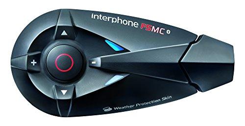 Interphone F5MC Twin-Pack - Kit manos libres para moto (conexión Bluetooth 3.0,...