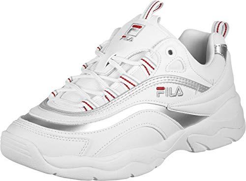 Fila Damen Sneaker RAY Low WMN Weiß Synthetik 41