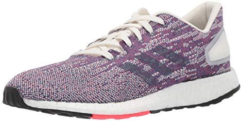 adidas Women's Pureboost DPR Running Shoes, Cloud White/raw Indigo/Shock red, 7 M US