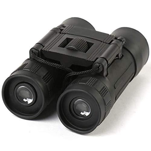 KaiKBax Prismáticos de viaje de 10 x 25 – Prismáticos resistentes al agua a la niebla – Prisma BAK4 de alta definición para observar aves caza deportes