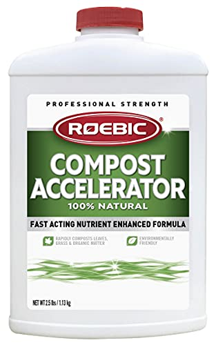 Roebic Laboratories CA-2.5-12 2-1/2-Pound Bacterial Compost Accelerator