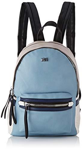 XTI 86268.0, Bolso mochila para Mujer, Azul (Jeans), 22x29x13 cm (W x H x L)